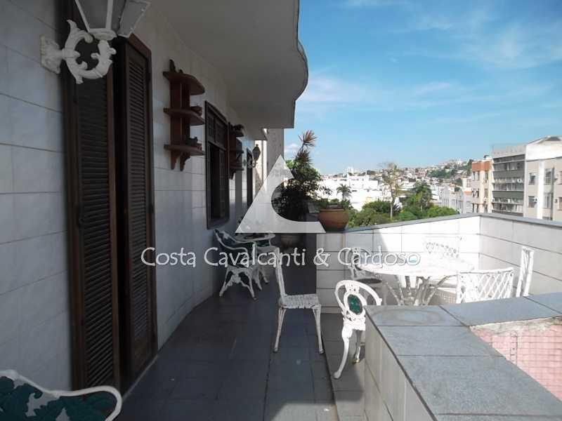 4 terraço - Cobertura 3 quartos à venda Tijuca, Rio de Janeiro - R$ 950.000 - TJCO30045 - 5