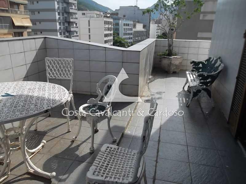 5 terraço - Cobertura 3 quartos à venda Tijuca, Rio de Janeiro - R$ 950.000 - TJCO30045 - 6