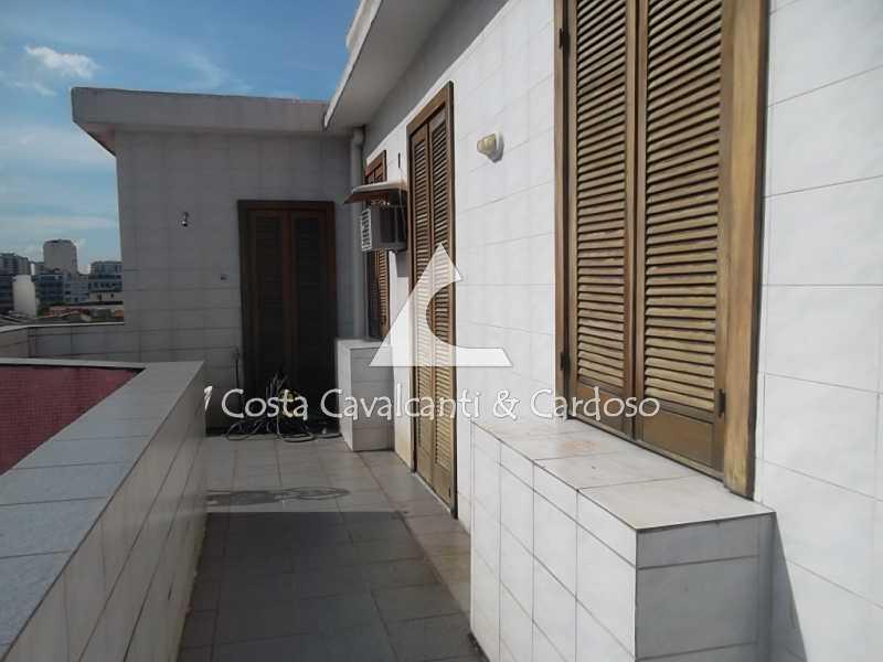 6 terraço - Cobertura 3 quartos à venda Tijuca, Rio de Janeiro - R$ 950.000 - TJCO30045 - 7