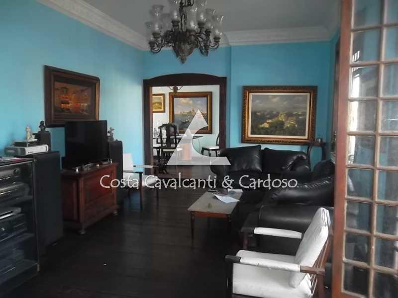 8 sala estar - Cobertura 3 quartos à venda Tijuca, Rio de Janeiro - R$ 950.000 - TJCO30045 - 9