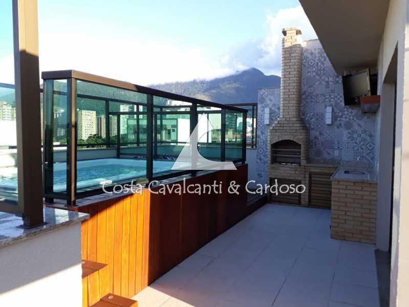 - Cobertura 3 quartos à venda Grajaú, Rio de Janeiro - R$ 998.000 - TJCO30046 - 1