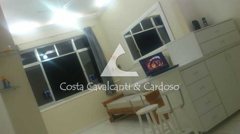 5 - SALA, QUARTO - Kitnet/Conjugado 24m² à venda Copacabana, Rio de Janeiro - R$ 350.000 - TJKI10007 - 6