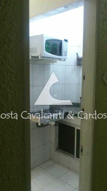 8 - COZINHA, PIA GRANITO - Kitnet/Conjugado 24m² à venda Copacabana, Rio de Janeiro - R$ 350.000 - TJKI10007 - 9