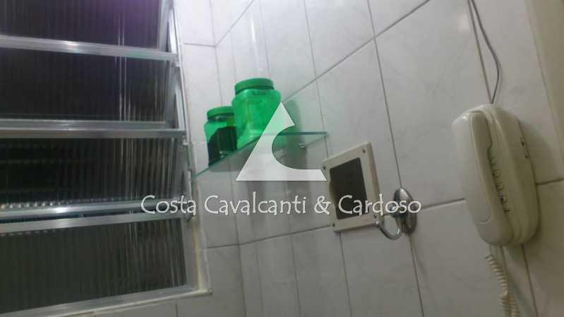 10 - INTERFONE, COZINHA - Kitnet/Conjugado 24m² à venda Copacabana, Rio de Janeiro - R$ 350.000 - TJKI10007 - 11