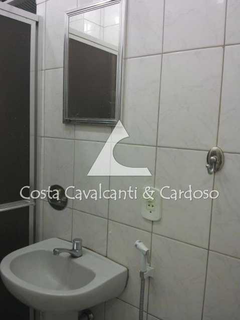 11 - BANHEIRO, BOX ACRÍLICO - Kitnet/Conjugado 24m² à venda Copacabana, Rio de Janeiro - R$ 350.000 - TJKI10007 - 12