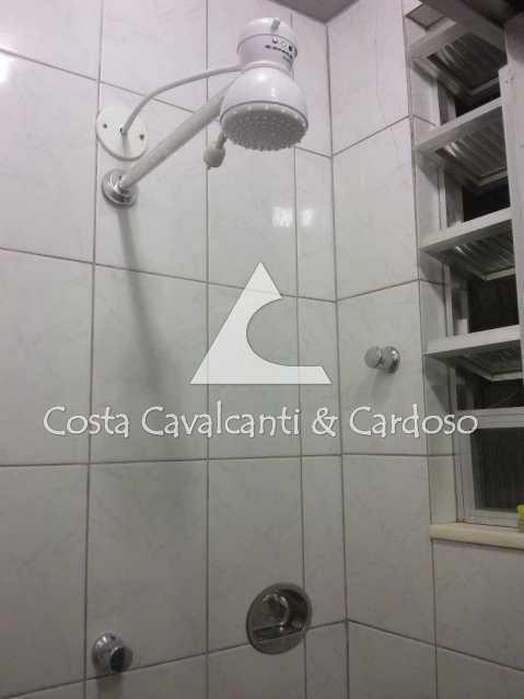 12 - BANHEIRO, JANELA ALUMINIO - Kitnet/Conjugado 24m² à venda Copacabana, Rio de Janeiro - R$ 350.000 - TJKI10007 - 13