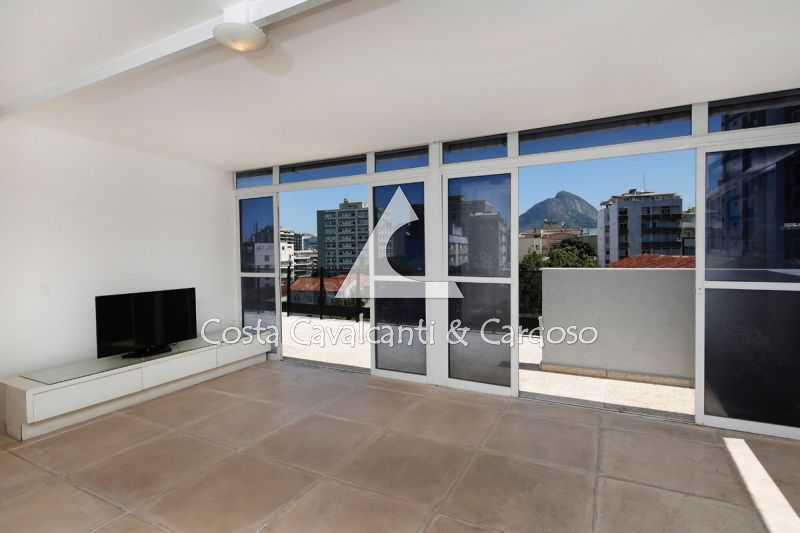 - Cobertura 6 quartos à venda Jardim Botânico, Rio de Janeiro - R$ 3.700.000 - TJCO60001 - 1