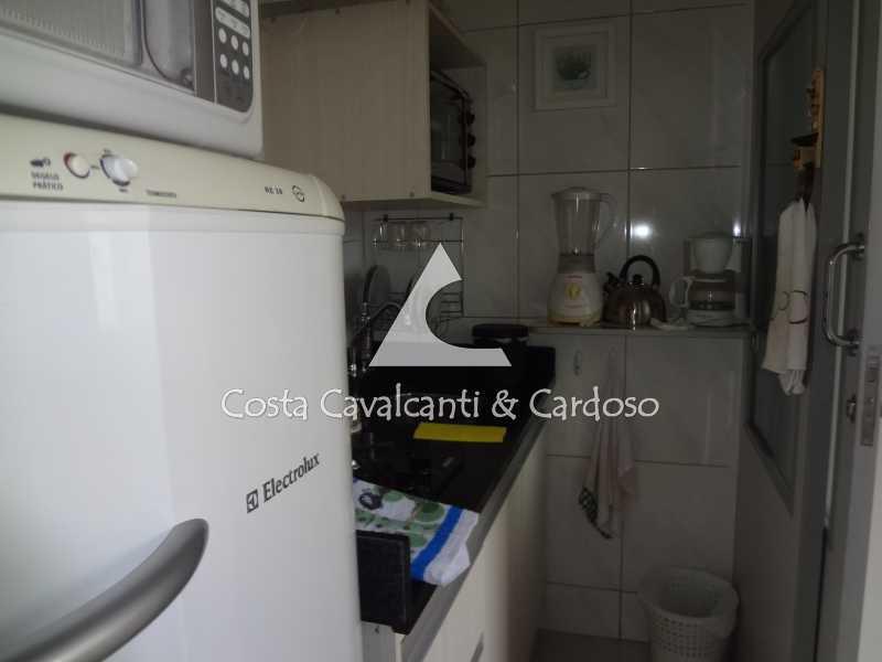 24 - COZINHA AMERICANA - Kitnet/Conjugado 34m² à venda Copacabana, Rio de Janeiro - R$ 600.000 - TJKI10009 - 18