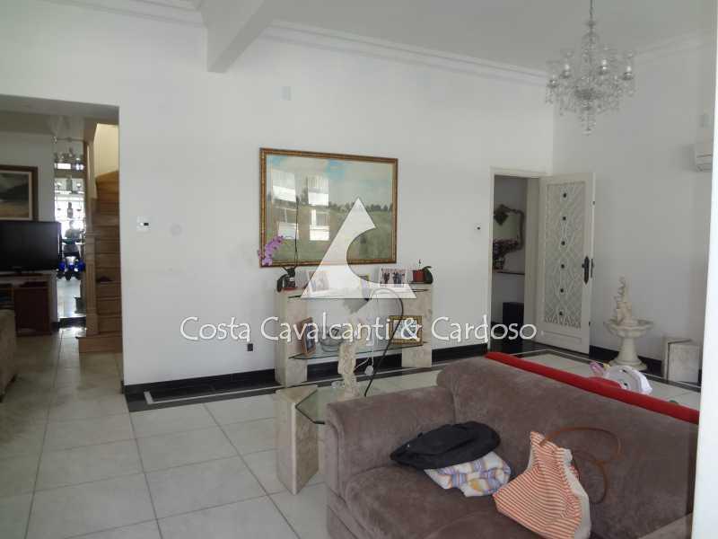 7 - SALÃO, LIVING - Cobertura 5 quartos à venda Leme, Rio de Janeiro - R$ 4.200.000 - TJCO50004 - 7