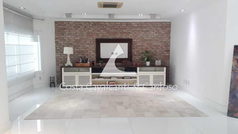 IMG-20210715-WA0015 - FOTO POR - Casa em Condomínio 5 quartos à venda Barra da Tijuca, Rio de Janeiro - R$ 5.000.000 - TJCN50003 - 4