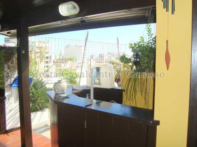 26 - Cobertura à venda Rua Rego Lópes,Tijuca, Rio de Janeiro - R$ 1.280.000 - CC30011 - 23