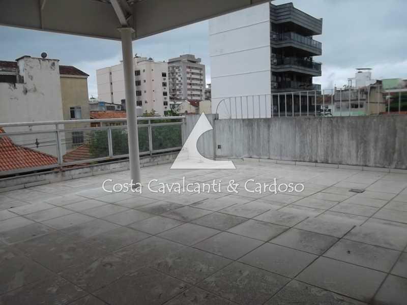 17.1 terraço - Casa à venda Rua Clemente Falcão,Tijuca, Rio de Janeiro - R$ 700.000 - TJCA20008 - 20