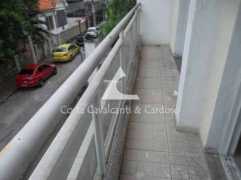 2 sacada - Casa à venda Rua Clemente Falcão,Tijuca, Rio de Janeiro - R$ 700.000 - TJCA20008 - 3