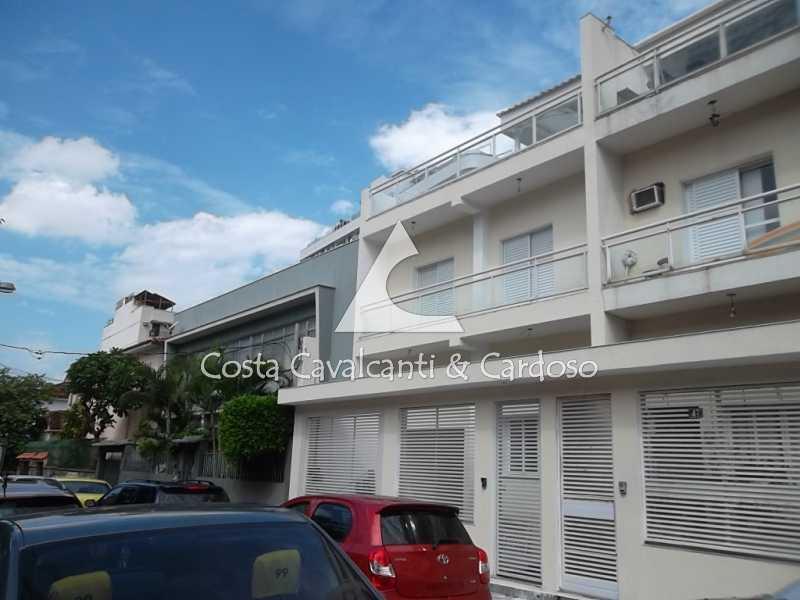 1 fachada - Casa à venda Rua Clemente Falcão,Tijuca, Rio de Janeiro - R$ 700.000 - TJCA20008 - 1