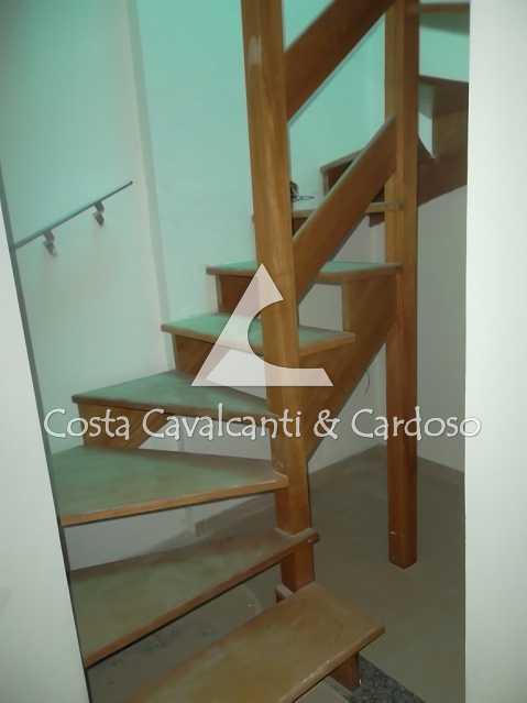 16 escada para terraço - Casa à venda Rua Clemente Falcão,Tijuca, Rio de Janeiro - R$ 700.000 - TJCA20008 - 18