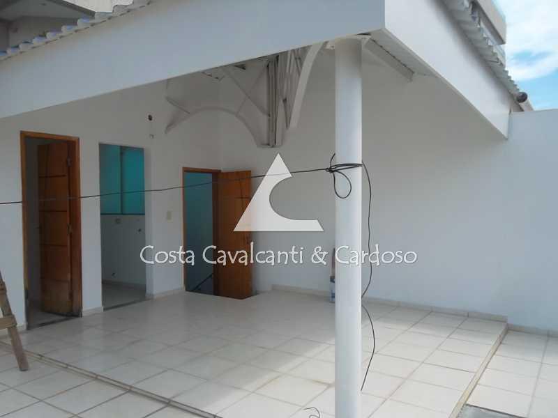 17 terraço - Casa à venda Rua Clemente Falcão,Tijuca, Rio de Janeiro - R$ 700.000 - TJCA20008 - 19