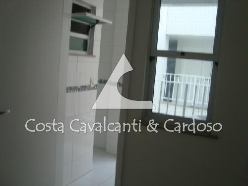 6 - Apartamento Rua Barão de Pirassinunga,Tijuca, Rio de Janeiro, RJ À Venda, 2 Quartos, 106m² - CA20003 - 7