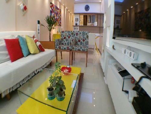 FOTO1 - Excelente quarto e sala. Flamengo. Quadra da praia. Mobiliado e reformado. - GA10268 - 1