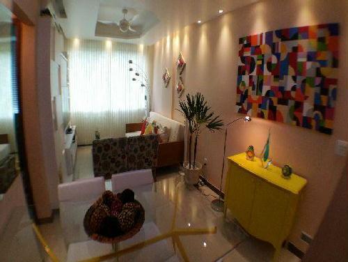 FOTO2 - Excelente quarto e sala. Flamengo. Quadra da praia. Mobiliado e reformado. - GA10268 - 3