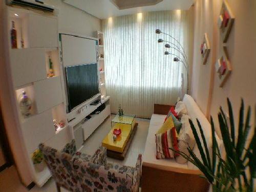 FOTO3 - Excelente quarto e sala. Flamengo. Quadra da praia. Mobiliado e reformado. - GA10268 - 4