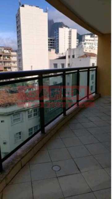 WhatsApp Image 2019-09-19 at 1 - Quarto e sala com varanda e vaga. Botafogo. - GAAP10262 - 1