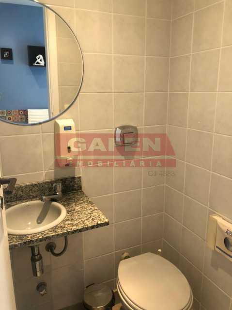WhatsApp Image 2019-11-23 at 1 - Excelente sala na Barra da Tijuca. Com vaga. Com área externa. - GASL00021 - 21