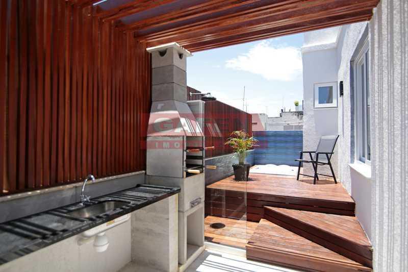 2-terraco-6 - EXCELENTE COBERTURA TRIPLEX DE LUXO TODA REFORMADA NO POSTO 6 DE COPACABANA !!! - GACO60004 - 19