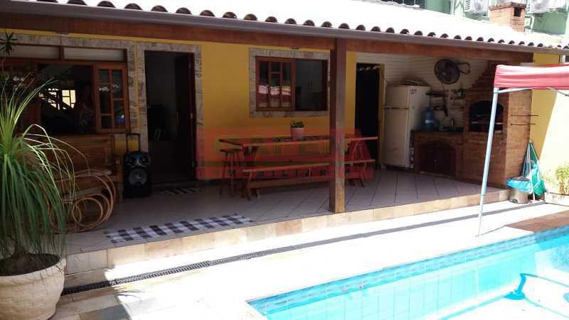WhatsApp Image 2020-02-12 at 0 - Excelente casa duplex DE condomínio com piscina. 4 quartos. Em condomínio. 4 vagas. Freguesia. Jacarepaguá. - GACN40006 - 7