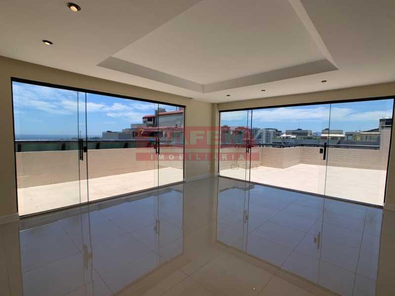 77a74c30-5072-43ad-920b-caa439 - Excelente Cobertura Duplex de 270 m² com vista Mar em Frente ao Rio Desing Barra - GACO30062 - 16