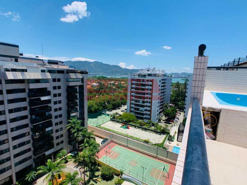 f7a360a5-970e-4cb9-bf10-34b981 - Excelente Cobertura Duplex de 270 m² com vista Mar em Frente ao Rio Desing Barra - GACO30062 - 20