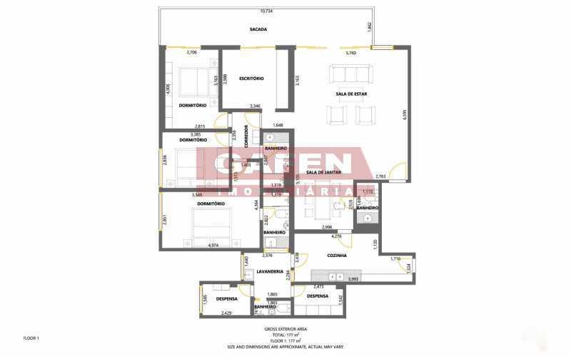 desktop_floorplan - EXCELENTE APARTAMENTO COM VARANDA TODO REFORMADO NO ALTO LEBLON - GAAP30814 - 13