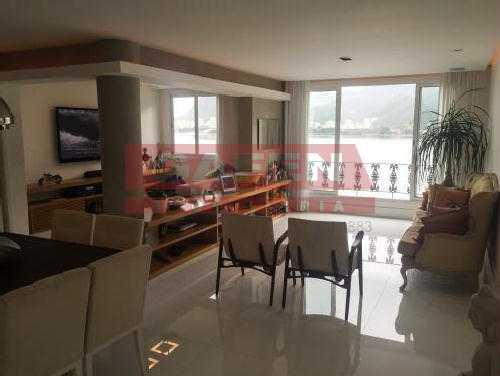 FOTO2 - Sensacional apartamento na Lagoa. Finamente decorado. - GAAP40146 - 1