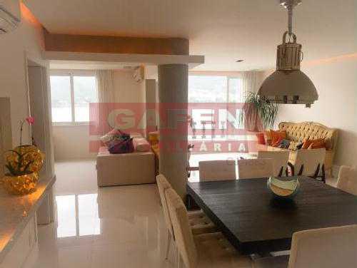 FOTO3 - Sensacional apartamento na Lagoa. Finamente decorado. - GAAP40146 - 3