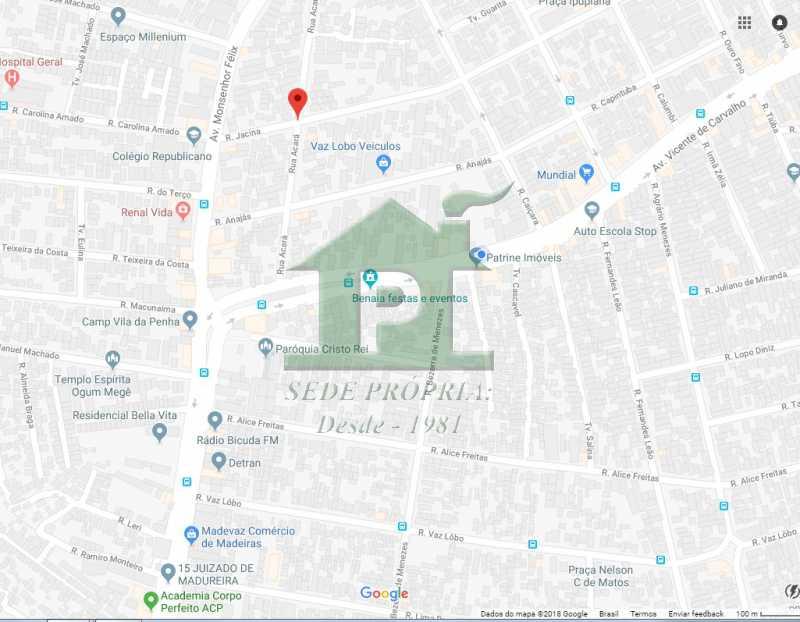 MAPA RUA ACARA, 370 - Casa em Condominio À VENDA, Vaz Lobo, Rio de Janeiro, RJ - VLCN30006 - 15