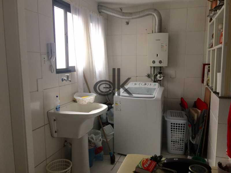 Área de serviço - Cobertura 4 quartos à venda Jardim Oceanico, Rio de Janeiro - R$ 2.350.000 - 5202 - 31