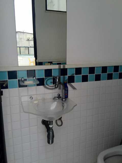 Banheiro de apoio à piscina - Cobertura 4 quartos à venda Jardim Oceanico, Rio de Janeiro - R$ 2.350.000 - 5202 - 6