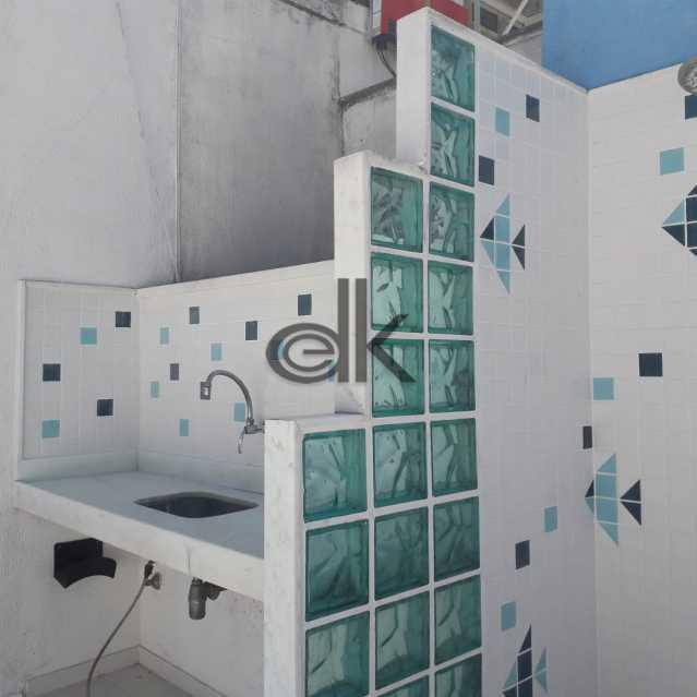 Espaço gourmet da piscina - Cobertura 4 quartos à venda Jardim Oceanico, Rio de Janeiro - R$ 2.350.000 - 5202 - 5