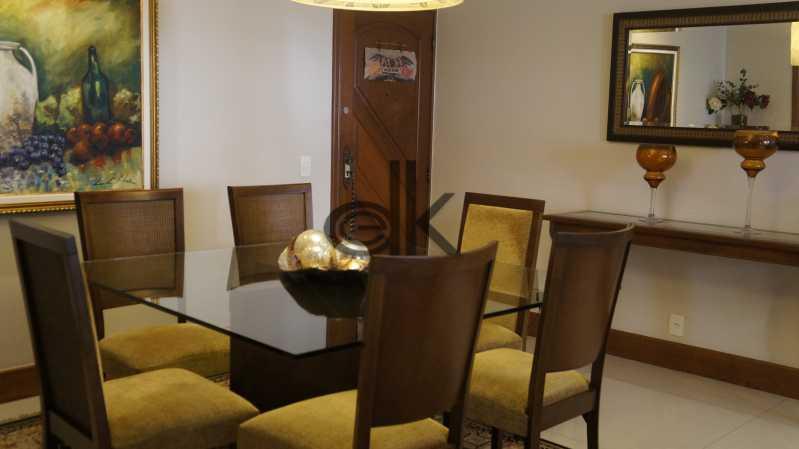 Sala de Jantar 1 - Apartamento 3 quartos à venda Copacabana, Rio de Janeiro - R$ 1.830.000 - 5226 - 6