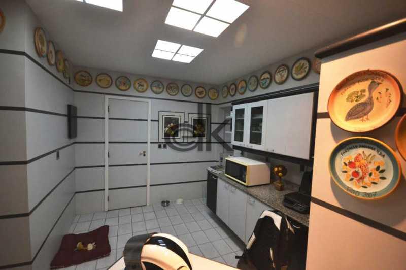 cozinha.. - Apartamento 3 quartos à venda Jardim Oceanico, Rio de Janeiro - R$ 1.850.000 - 4091 - 11