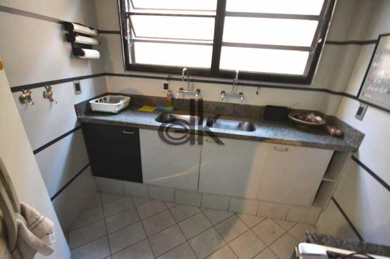 cozinha. - Apartamento 3 quartos à venda Jardim Oceanico, Rio de Janeiro - R$ 1.850.000 - 4091 - 10