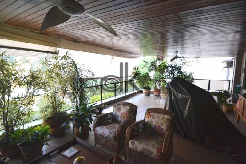 varanda. - Apartamento 3 quartos à venda Jardim Oceanico, Rio de Janeiro - R$ 1.850.000 - 4091 - 20