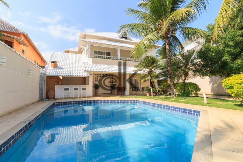 Frente Int - Casa em Condomínio 4 quartos à venda Barra da Tijuca, Rio de Janeiro - R$ 4.200.000 - 5089 - 1