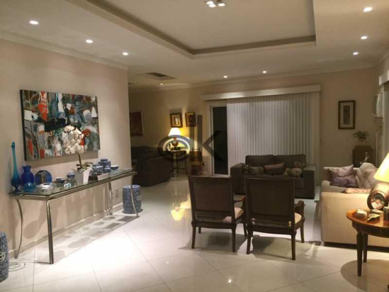 Sala est noite - Casa em Condomínio 4 quartos à venda Barra da Tijuca, Rio de Janeiro - R$ 4.200.000 - 5089 - 9