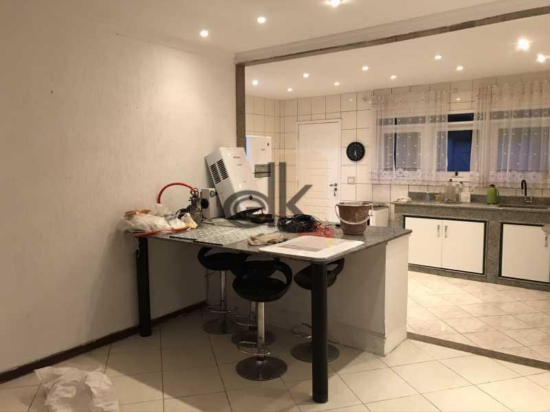 Ilha e cozinha ao fundo - Casa em Condomínio 3 quartos à venda Vargem Grande, Rio de Janeiro - R$ 645.000 - 6160 - 9
