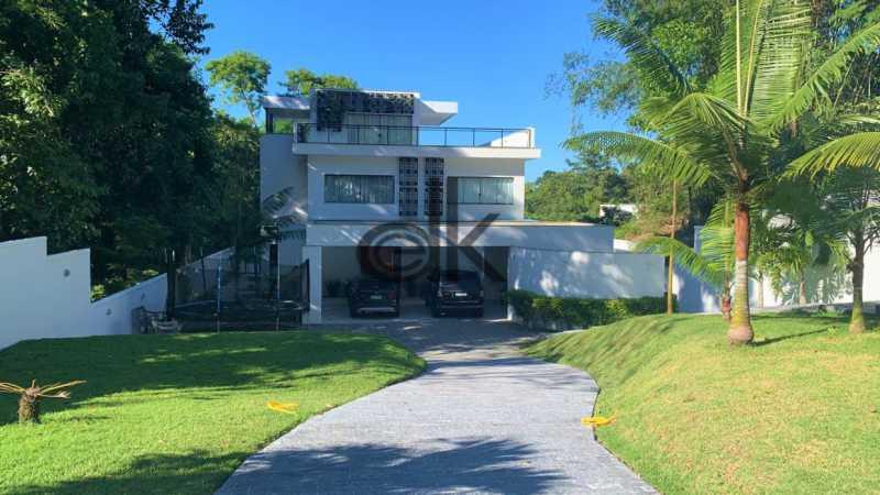 01_Frente da casa. - Casa em Condomínio 4 quartos à venda Itanhangá, Rio de Janeiro - R$ 5.200.000 - 6229 - 1