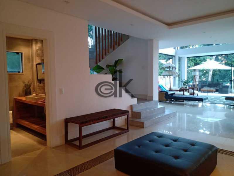 06_Hall de circulação e esca - Casa em Condomínio 4 quartos à venda Itanhangá, Rio de Janeiro - R$ 5.200.000 - 6229 - 5
