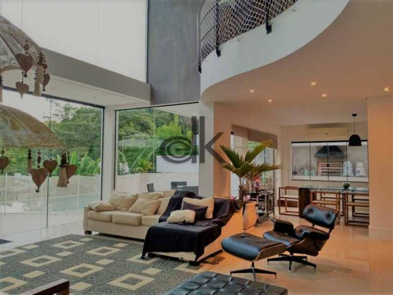 11_Sala de estar com sala de j - Casa em Condomínio 4 quartos à venda Itanhangá, Rio de Janeiro - R$ 5.200.000 - 6229 - 8