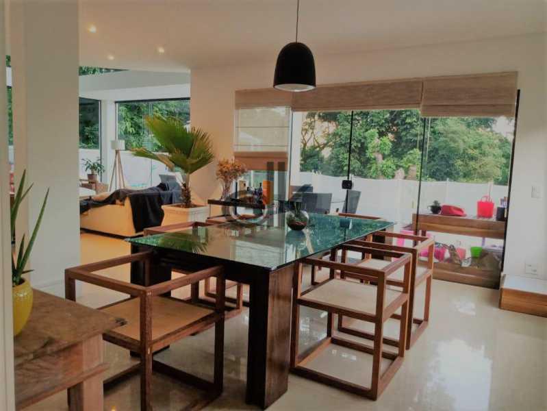 13_Sala de jantar. - Casa em Condomínio 4 quartos à venda Itanhangá, Rio de Janeiro - R$ 5.200.000 - 6229 - 10