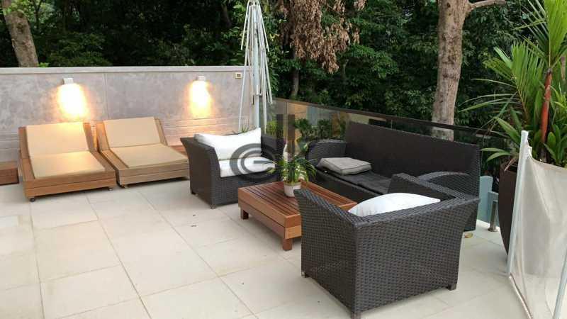 14_Área social externa. - Casa em Condomínio 4 quartos à venda Itanhangá, Rio de Janeiro - R$ 5.200.000 - 6229 - 11