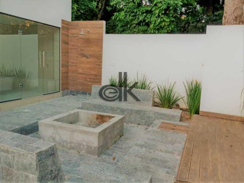 21_Lareira ao ar livre e sauna - Casa em Condomínio 4 quartos à venda Itanhangá, Rio de Janeiro - R$ 5.200.000 - 6229 - 28